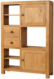 high cabinet with drawers buy devonshire avon oak high display cabinet 2 door 2 drawer