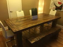 table de cuisine bois table en bois de grange fabulous chelle dcorative with table en