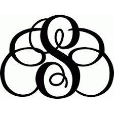 monogram letter silhouette design store view design 59328 monogram letter s