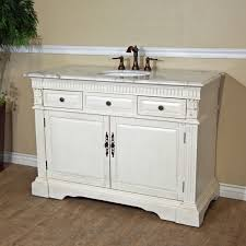 Bathroom Vanity Solid Wood by Excellent White Bathroom Vanity Single Sink With Solid Wood