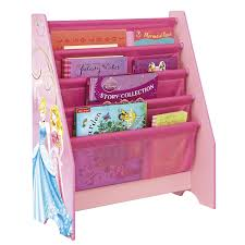 disney princess kids sling bookcase bedroom storage by hellohome