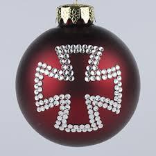 maltese cross ornament cross of malta tree ornaments