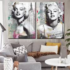 Marilyn Monroe Living Room by Marilyn Monroe Art Graffiti And Newspaper Style 14 15 Best