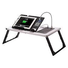 Adjustable Laptop Desk Etable Foldable Adjustable Desk With Built In 10000mah