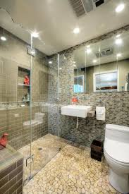 bathroom tile shower designs bathroom design trend no threshold showers hgtv