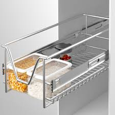 tiroir coulissant pour meuble cuisine panier de rangement coulissant cuisine meuble pour placard étagère