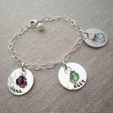 custom birthstone bracelets birthstone charm bracelet for sparklemom custom birthstone
