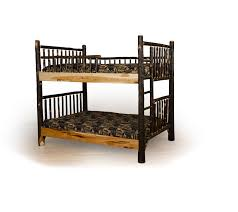 Rustic Bunk Bed Rustic Lake Lodge Bunk Bed Farmhouse And Cottage