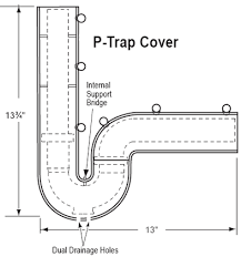 How To Replace P Trap Under Bathroom Sink Under Sink Injury Prevention Products For The Safety Of Wheelchair
