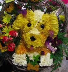 Dog Flower Arrangement Unique Flower Dogs Make For A U201cvow Wow Wow Able U201d Wedding Day Arf