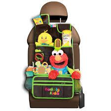 amazon com kuddly kids backseat car organizer for kids the