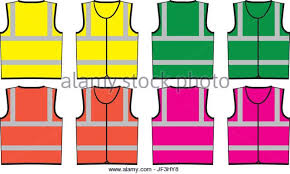 safety vest stock vector images alamy