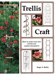 trellis craft how to make your own copper pipe garden ornaments