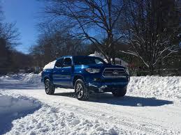 toyota tacoma jacked up the toyota tacoma 4x4 truck takes on snowzilla maxim