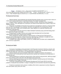 sample resume for senior business analyst it sample resumes attractive inspiration it resumes 15 example it