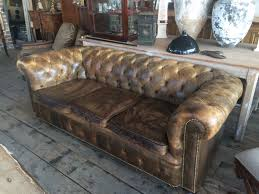 Antique Leather Sofas Sofas Center Vintage Chesterfield Sofa For Sale Leather Cigar