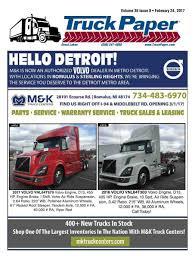 volvo truck dealership toronto truck paper
