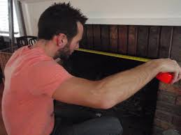 Fireplace Canopy Hood by Hammers And High Heels Diy Smoke Guard For Our Fireplace