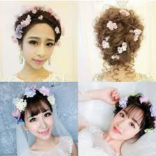 flower hair accessories aliexpress buy preserved fresh flower hair pins women hair