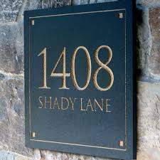 address plaques for homes homesfeed home plaques