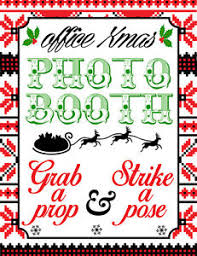 photo booth sign digital office christmas photo booth sign props no physical item