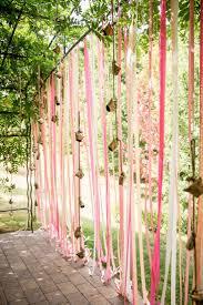 decor ideas using ribbon weddingbee