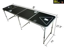 how long is a beer pong table beer pong table size home decorating ideas