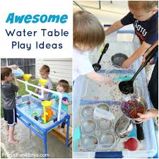 Water Table Toddler Water Table Play Ideas