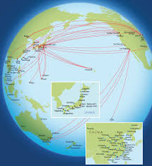 Allegiant Route Map by Air Lines Route Map Asia And Australia