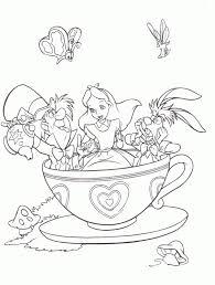 tea cup coloring page 306036
