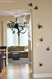 How To Make Halloween Decorations At Home by Halloween Decorations Home Tour Quick And Easy Ideas