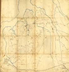 Map Of Northern Virginia Places In Civil War History Tensions In Northern Virginia And