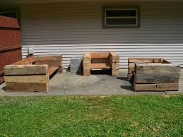 the reclaimed wood outdoor furniture u2013 home designing