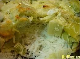 cuisine avec du riz recette de riz à la fondue de poireaux la recette facile