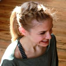 coolest girl hairstyles ever easy hairstyles for the gym how to instructions shape magazine