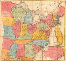 A Picture Of The Map Of The United States by File 1852 Andrews Railroad Map Of The United States Geographicus