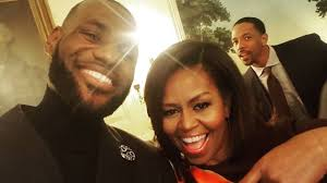 White House Tours Obama Barack And Michelle Obama Welcome Lebron James And The Cleveland