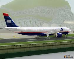 the airbus a330 300 us airways for gta san andreas