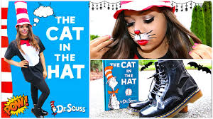 Cat In The Hat Costume Diy Cat In The Hat Halloween Costume Krazyrayray Youtube