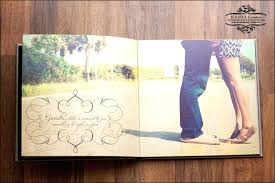 wedding signing book sign in book lay flat custom wedding guest sign in book using