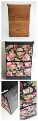 furniture decoupage tutorial file cabinet makeover plaid online