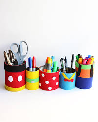 Pencil Holders For Desks by Fab Five Pencil Holders Disney Family