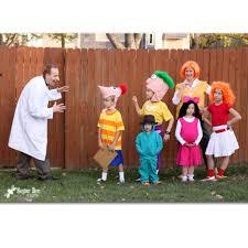 phineas halloween costume 15 creative family halloween costumes i bambini clothing a