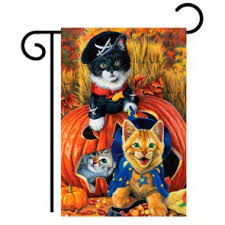 halloween garden flags halloween flags for your yard u0026 garden