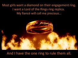 One Ring To Rule Them All Meme - engagement ring meme picture webfail fail pictures and fail videos