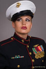 suggestions online images of marines dress blues women