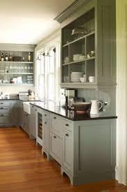 Craftsman Kitchen Cabinets Modern Craftsman Kitchen Dark Lower Cabinets With Light Floor