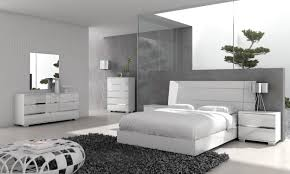 Bedroom Furniture In White Icon Queen Bed