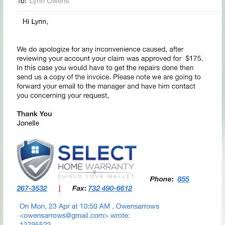 best home warranty companies consumeraffairs select home warranty 194 reviews appliances repair 1