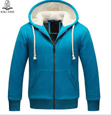 wholesale hoodie fashion jacket plus velvet thick couple models